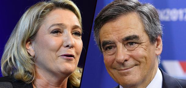 Le Pen plagie Fillon, le FN parle de 'clin d'oeil'
