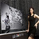 LG et SWAROVSKI créent un téléviseur incurvé OLED Premium Design