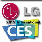 LG remporte 41 prix lors du CES 2015