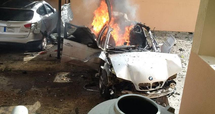 انفجار بمدينة صيدا جنوبي لبنان استهدف قياديا في حركة حماس الفلسطينية