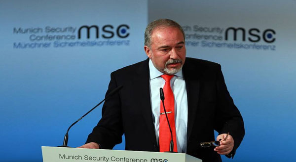 ليبرمان: العالم الإسلامي يدرك خطر إيران وليس إسرائيل فقط