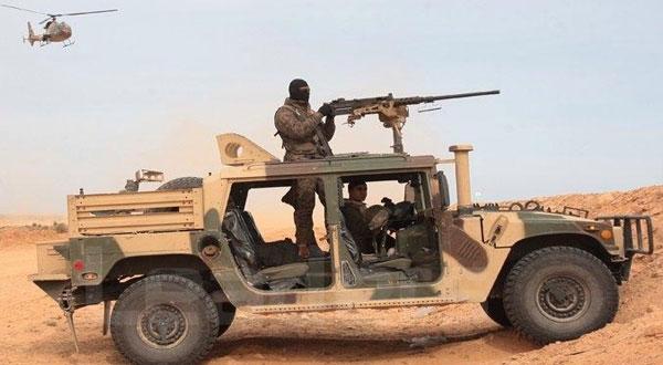 إيقاف 14 أجنبيا حاولوا اجتياز الحدود التونسية الليبية