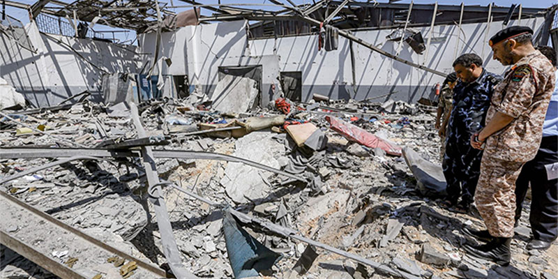 Carnage dans un centre pour migrants en Libye, pas de condamnation unanime du Conseil de sécurité