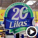 En Vidéo : Lilas fête ses 20 ans à l'hyper marché Carrefour la Marsa
