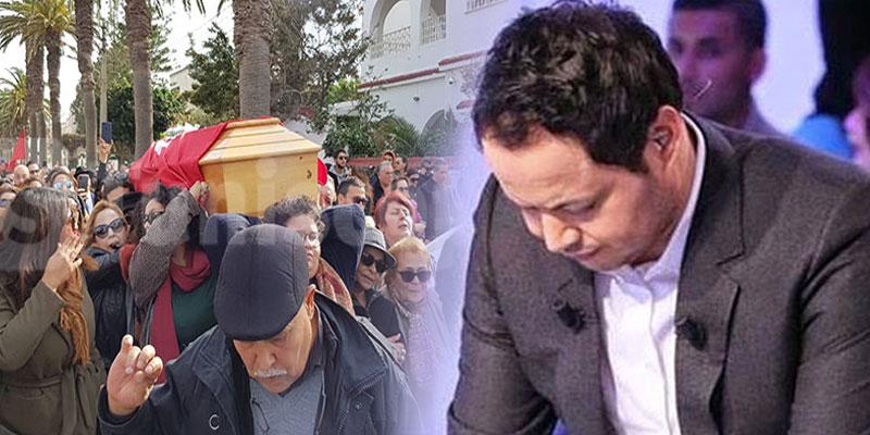 سمير الوافي: أين الخشوع والاحترام في جنازة لينا بن مهنّي...