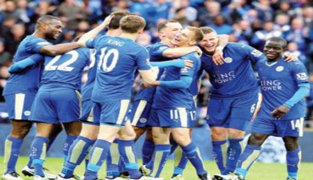 نادي ليستر سيتي يتوج بلقب الدوري الإنجليزي لأول مرة في تاريخه