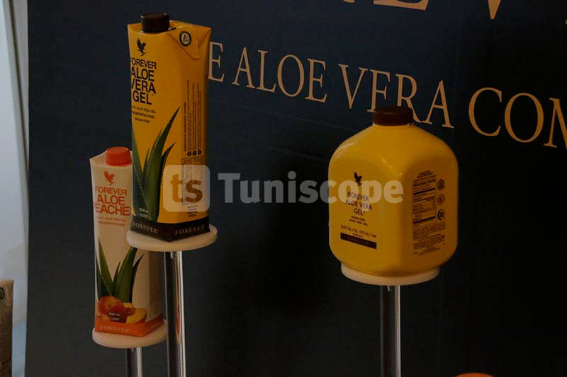 En photos :  Forever Living Products Tunisie présente ses nouveautés