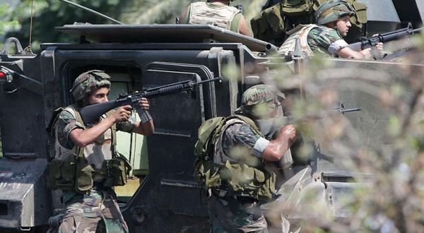 الجيش اللبناني يعلن استعادة أغلب المواقع من داعش