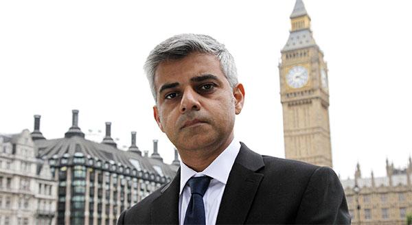 Sadiq Khan est le premier maire musulman de Londres
