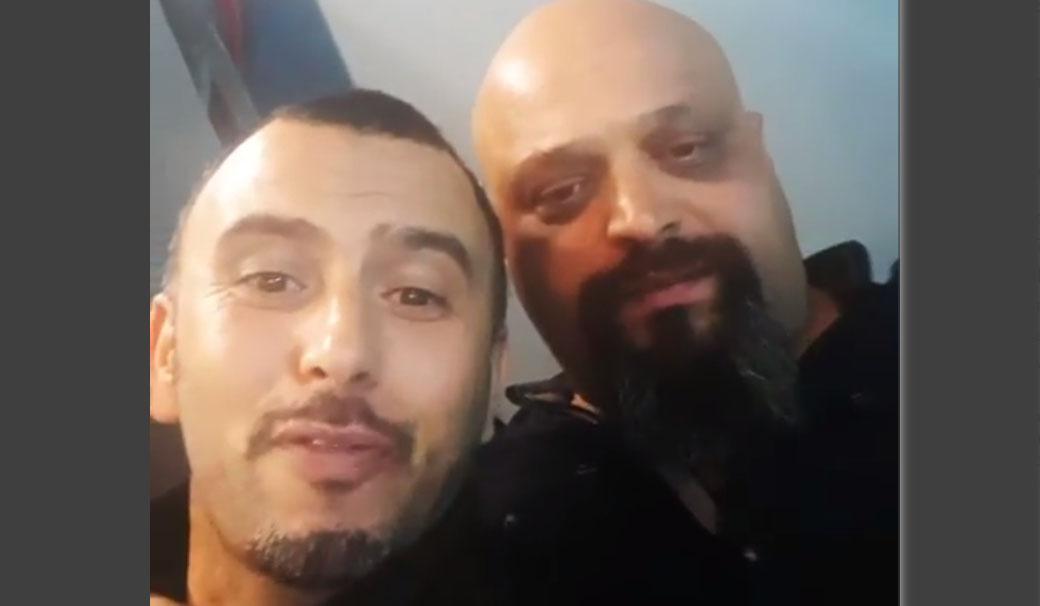 بالفيديو: لطفي العبدلي والشادلي العرفاوي من كواليس مسلسل ''بوليس''