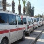 Les propriétaires des voitures de louages autorisés à transporter les voyageurs vers toutes les destinations