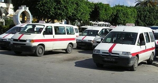 فوضى في محطة سيارات الأجرة بالقيروان بعد أن أضرم شاب النار في جسده