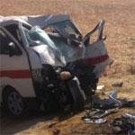 Accident grave entre une voiture de louage et un camion sur la route de Kelibia