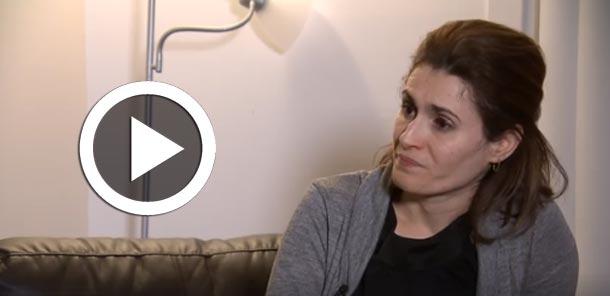 Vidéo : Elle a perdu son mari dans l'attentat du Québec, Louiza Hassan témoigne