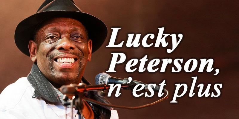 Décès du célèbre bluesman Lucky Peterson à l'âge de 55 ans — Musique