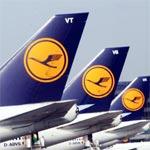 Lufthansa honore les passagers de son premier vol du jour vers Francfort