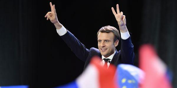 Emanuel Macron élu Président de la République avec 65,9%
