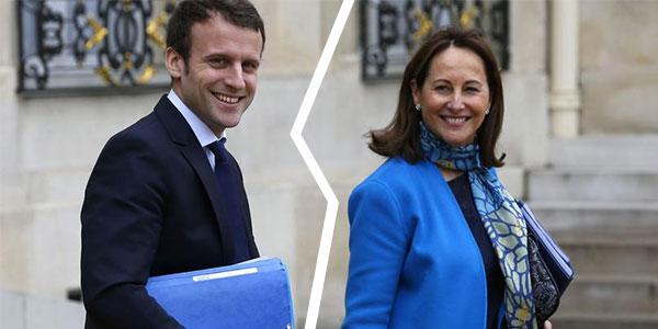 Ségolène Royal en rage contre Emannuel Macron