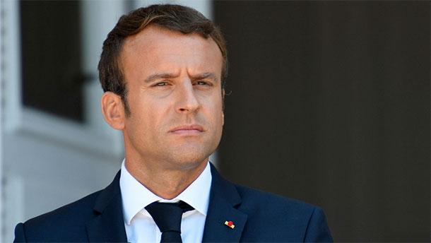 Macron en visite en Tunisie au début de l'année 2018