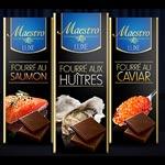 Du chocolat Maestro fourré au Saumon, aux Huitres et au Caviar ! ?