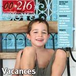 Le dernier numéro du mag 00216 disponible.