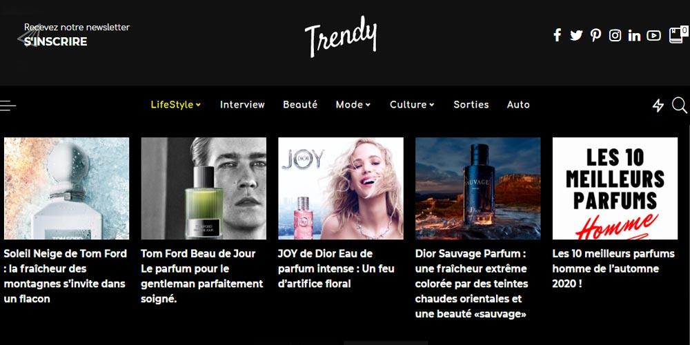 Lancement de Trendy magazine, Un web-magazine dédié au Lifestyle Tunisien