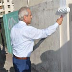 Photo du jour : Ben Romdhane donne le signal de départ de l'exécution du programme de propreté