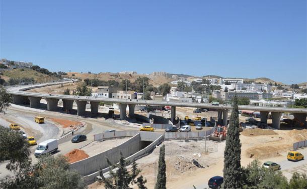 غلق أجزاء من الطريق المحلية 532 بأريانة لاستكمال جسر محمود الماطري