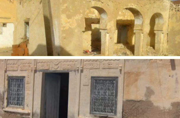صور مؤسفة : حالة مزرية لمسكني فرحات حشاد و أبو القاسم الشابي