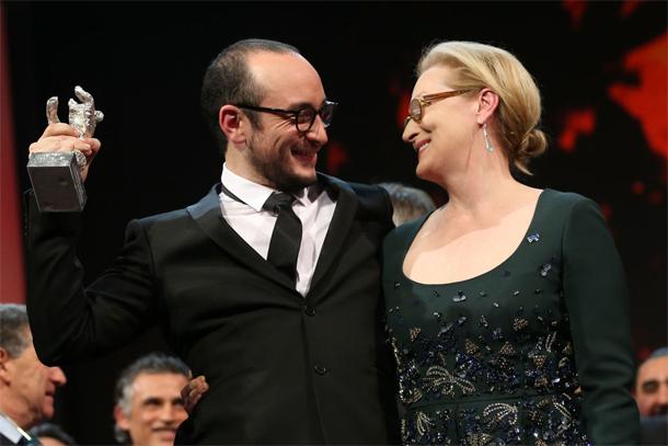 La photo du jour : Majd Mastoura, Meryl Streep et l'ours d'argent…