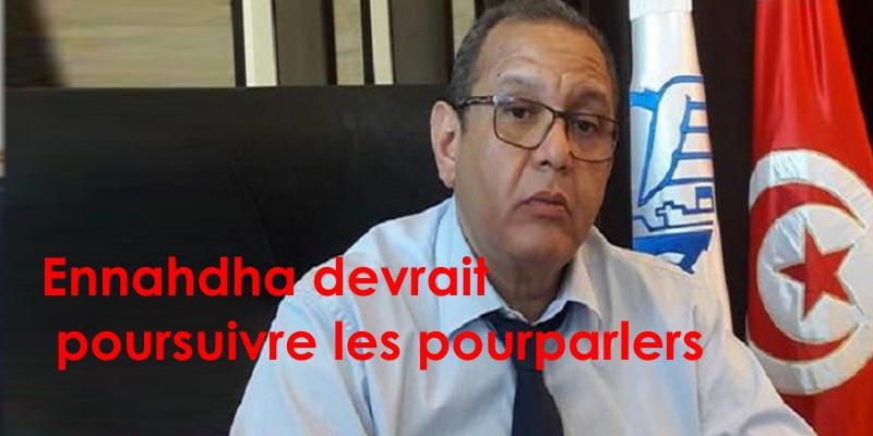 Majoul : Ennahdha devrait reprendre les négociations