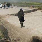 Glissements de terrain et fissures à Makthar