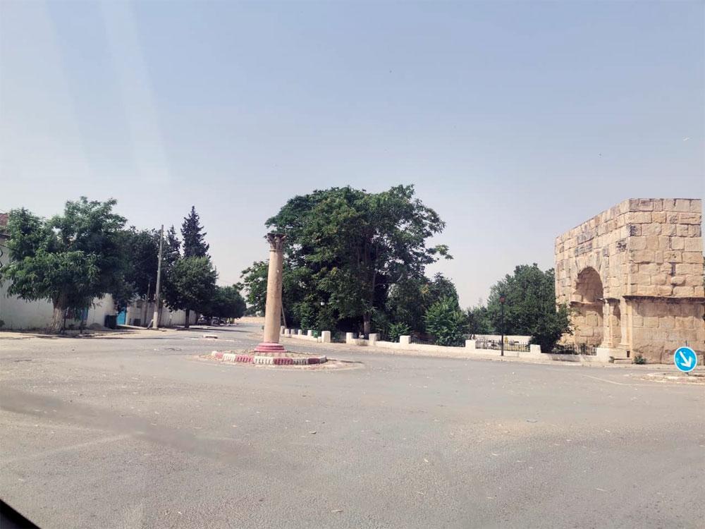 صور من مدينة مكثر بعد الحملة الأمنية