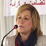 امنة منصور : منعت خروج مسيرات حاشدة احتجاجا على اقصائي من الرئاسية