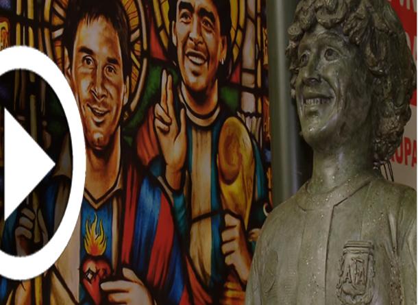 بالفيديو: تحويل المنزل القديم للاعب مارادونا إلى متحف مجاني