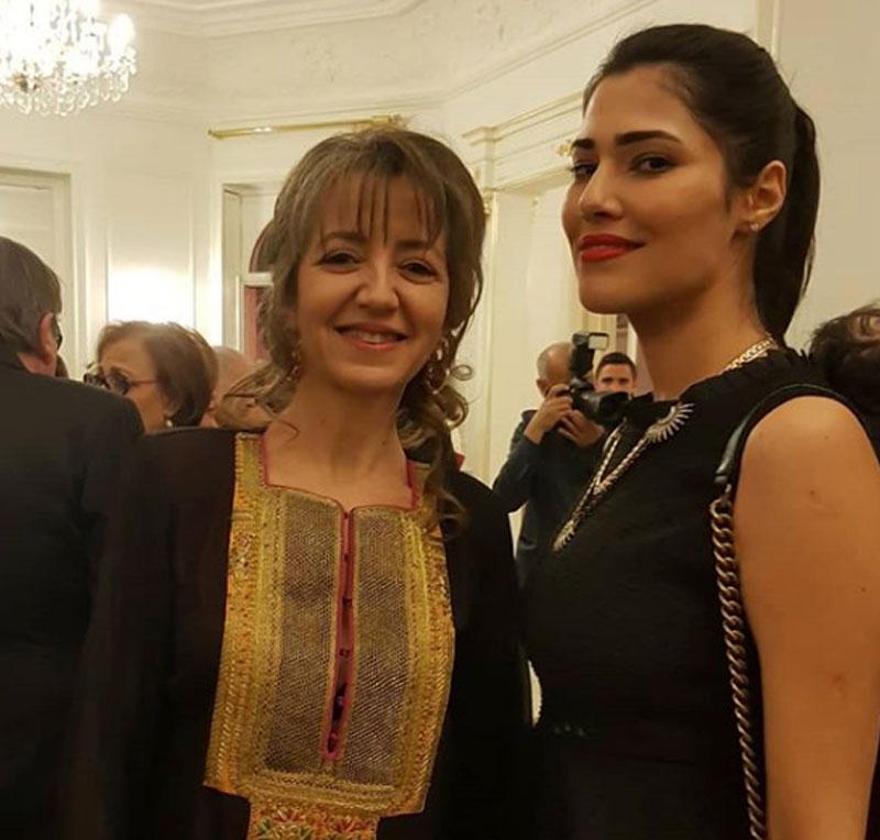 En photos : Maram Ben Aziza et son mari ont célébré la fête de l'Indépendance à l'Ambassade de Tunisie en France