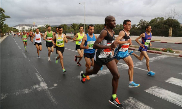 Atef Saad remporte le marathon international d'Agadir et se qualifie pour Rio-2016