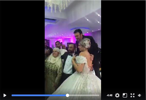 En vidéo: Comme promis, l'heureuse fin de l'histoire  des mariés de Oued Ellil