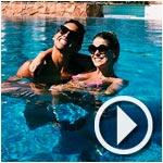 En vidéo : Le joueur brésilien du PSG, Marquinhos, et sa fiancée en vacances à Djerba !