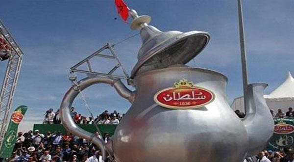 أكبر 'براد' مغربي للشاي يدخل موسوعة غينيس