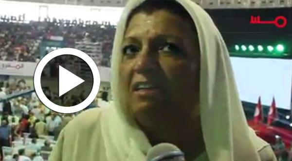 بالفيديو..إحدى مناضلات حركة مشروع تونس: محسن مرزوق سينقذ البلاد