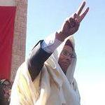 Photo du Jour : Marzouki porte la Lahfa à Tataouine