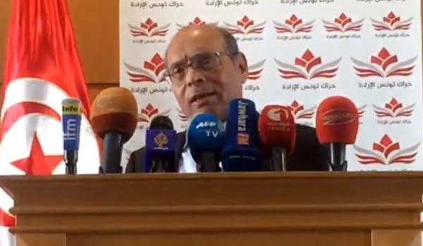 Marzouki  au sujet du retour des terroristes tunisiens : il faut respecter la constitution et appliquer la loi antiterroriste