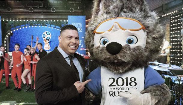 « Zabivaka » le loup, mascotte du mondial-Russie 2018 de football