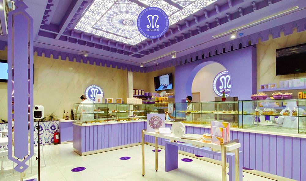 نجاح تونسي : حلويّات المصمودي تفتح أبوابها في المدينة المنوّرة