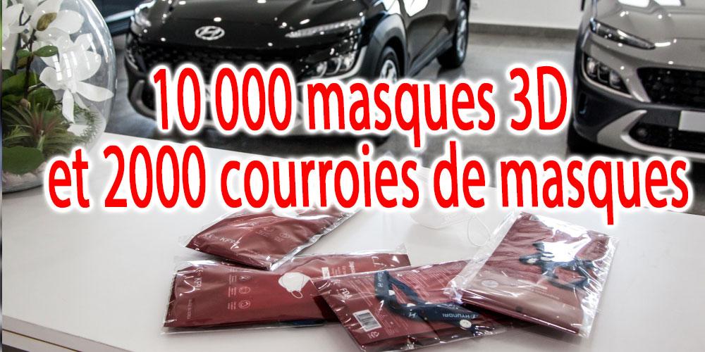 Hyundai Motor Company renforce ses mesures sanitaires avec un don de masques 3D pour son réseau en Tunisie