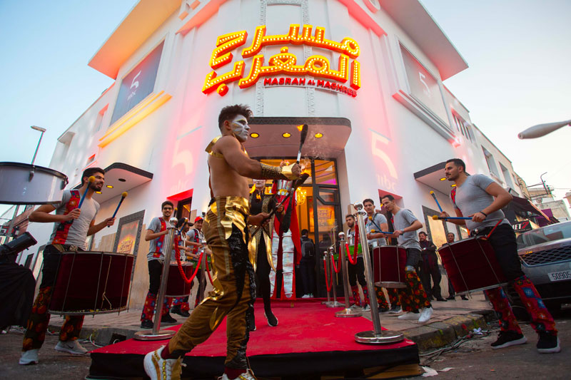 إطلاق عروض مسرح المغرب بحضور كوكبة من نجوم الفن