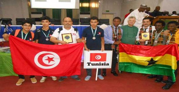 Médailles d'or et d'argent aux olympiades Pan africaines de mathématiques