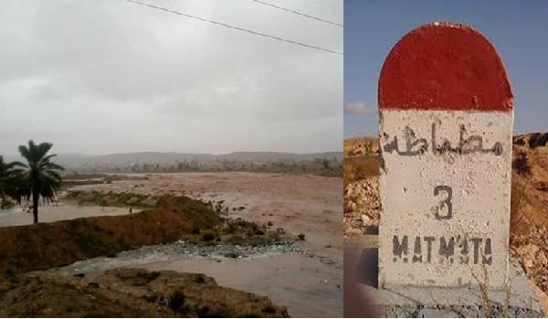 Seule la voiture du délégué de Matmata emportée par les eaux, retrouvée