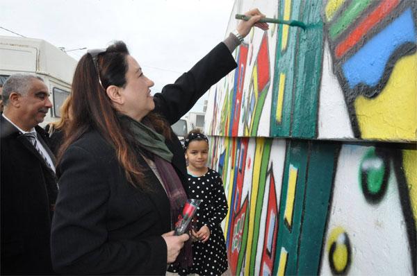 افتتاح أوّل مدرسة ثقافيّة نموذجيّة بحي السّلامة بالحرايريّة بإشراف سنية مبارك